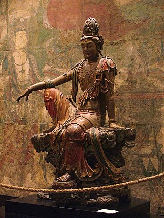 Kwan Yin beeld uit China