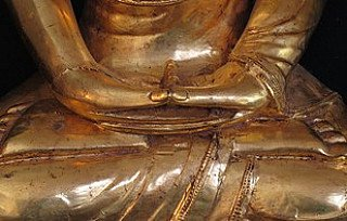 Buddha statue in Dhyana Mudra