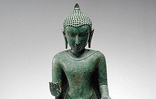 Bagan Buddha statue