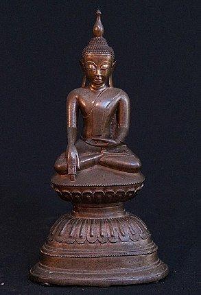 Bronze Shan Buddha statue