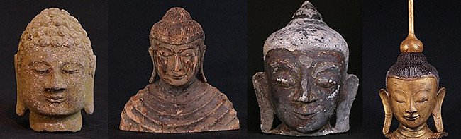 Buddha Head Crown - The Ushnisha
