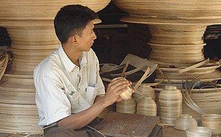 A lacquerware workshop