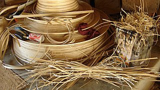 Lacquerware from bamboo