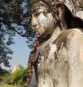 Buddhafigur aus Burma - Myanmar