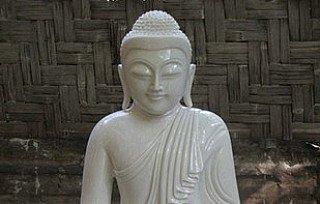 marmeren boeddha
