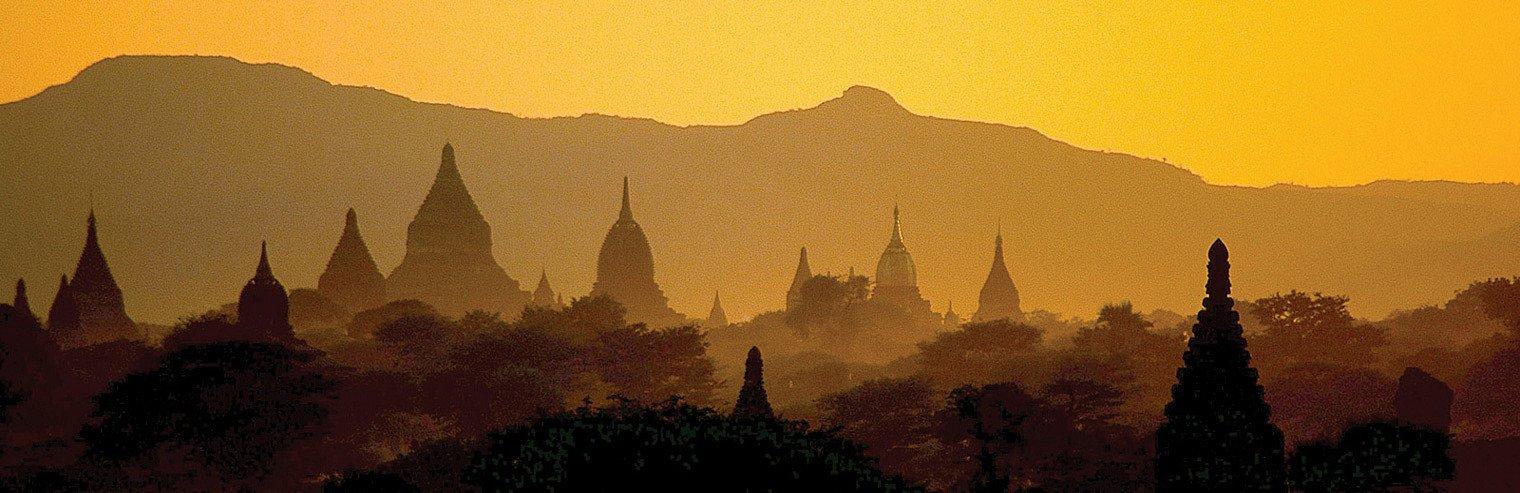 Bagan in Birma - Myanmar