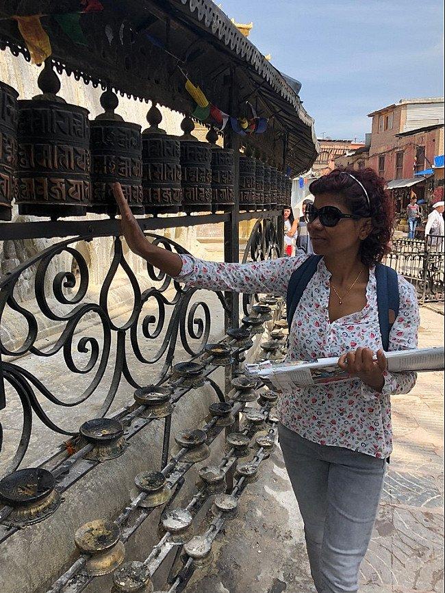 sangita vredeveld in nepal