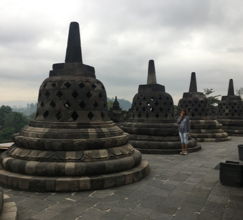 A visit to the Burubudur temple