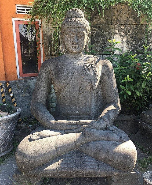 Large Lavastone Statue