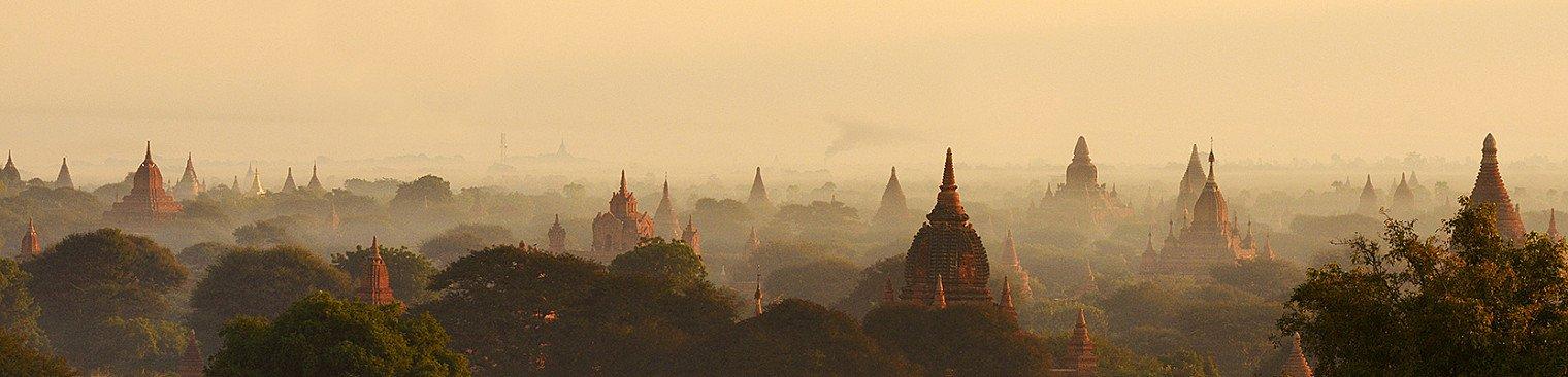 Bagan tempels in Birma / Myanmar