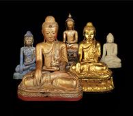 Stile und Perioden birmanischer Buddhas
