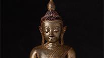 Ava Buddha statues
