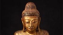 Mandalay Buddha statues