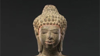 Mon Buddha statues