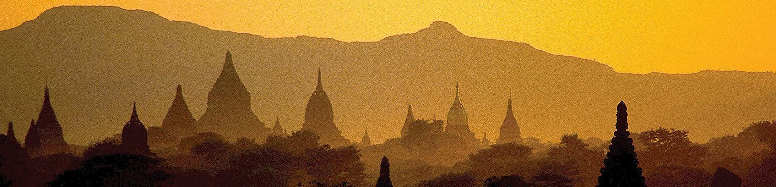 Bagan tempels in Birma - Myanmar
