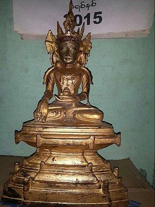 Bronze Arakan Buddha statue