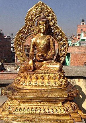 Nepal Buddha statue