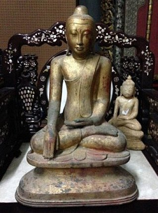 18th century Buddha statue