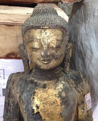 Lacquer Buddha