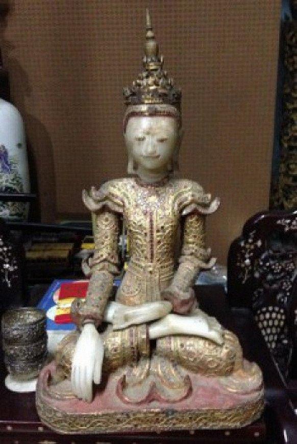 mandalay period buddha