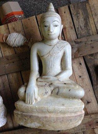 Marble Shan Buddha