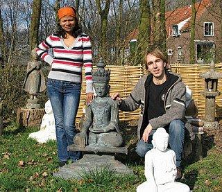 Peter en Sangita Vredeveld