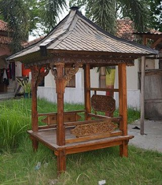 Garden Temple from Indonesia