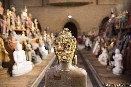 Buddha statues from Burma has arrived