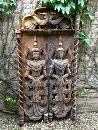 Set of Burmese Temple Doors