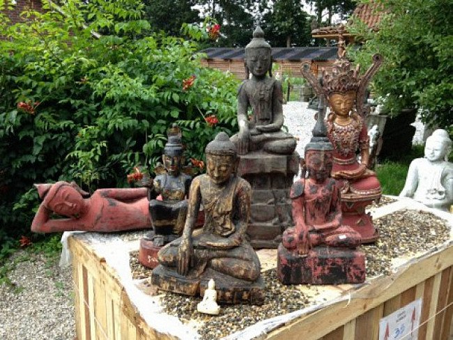 Birmese Boeddhas