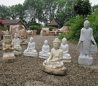 Marmeren Boeddhabeelden