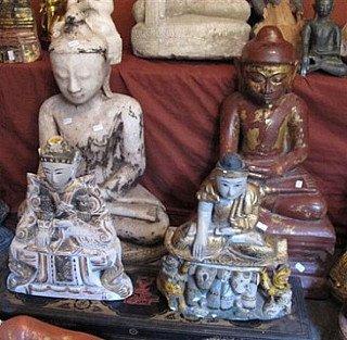 Antique Buddhas