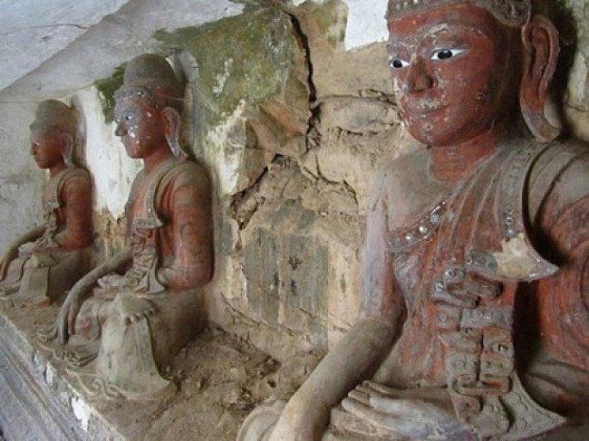 Antieke Boeddhabeelden