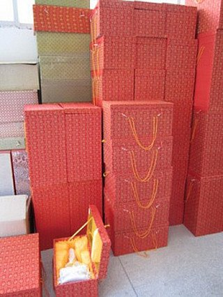 Boxes for Kwan Yin images