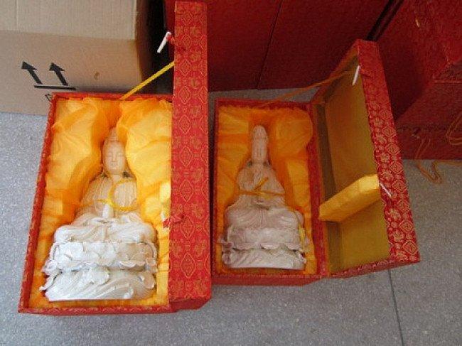 Porseleinen Kwan Yin