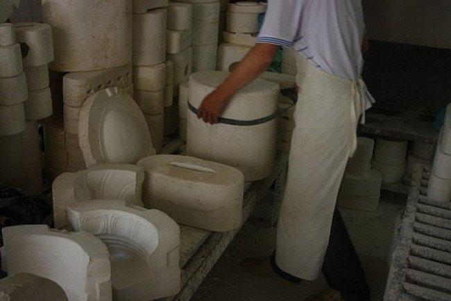 Mallen van Kwan Yin beelden