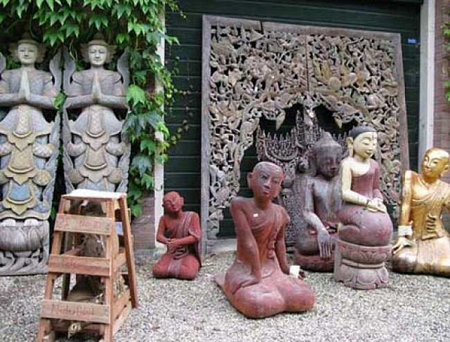 Buddha statues just arrived