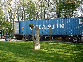 Container kommt an