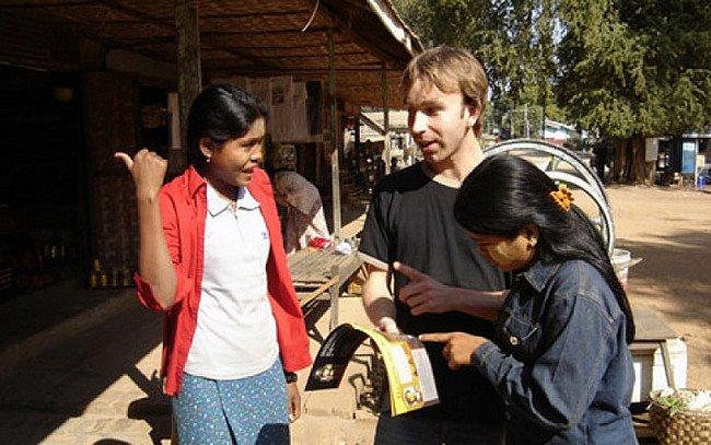 Op inkoop in Birma