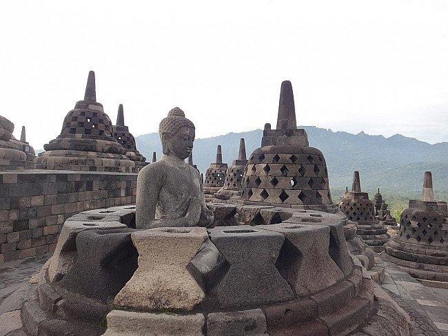 Indonesian Buddha Statues