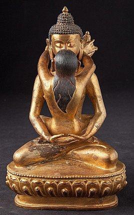 shiva shakti buddha statue