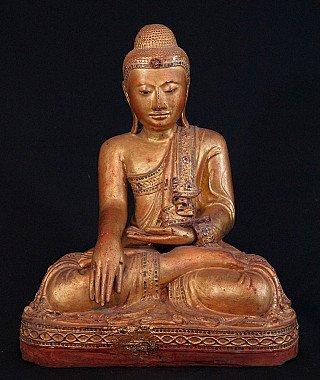 burmese-buddha-statues