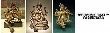 Buddhist Deity: Vasudhara