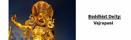 Buddhist Deity: Vajrapani