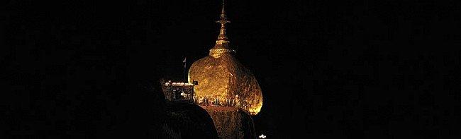 Buddhist Pilgrimage site in Myanmar: Kyaiktiyo Pagoda
