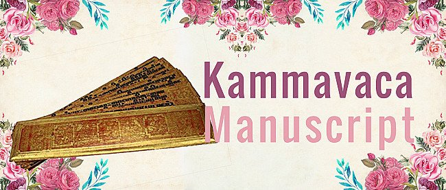 Kammavaca Texts - Their Covers and Binding Ribbons