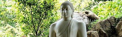 Five Antique Buddha Statues of Sri Lanka