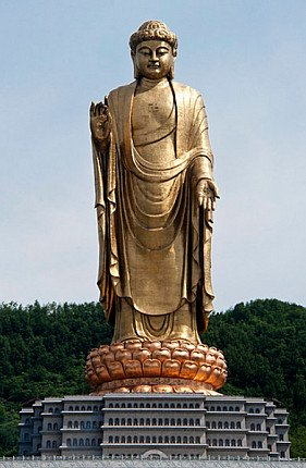 Spring Temple Buddha, Lushan County, Henan Province