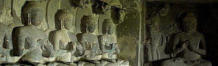 Buddhist Cave in Ellora