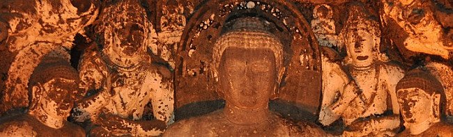 Ancient Buddhist Arts in Ajanta Caves